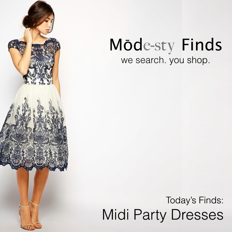 Mode Sty Modest Cocktail Dresses