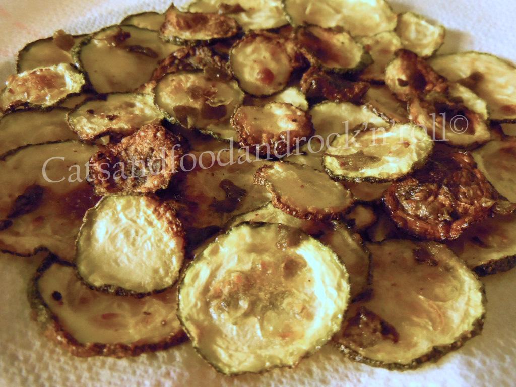 zucchini chips! (al forno)
