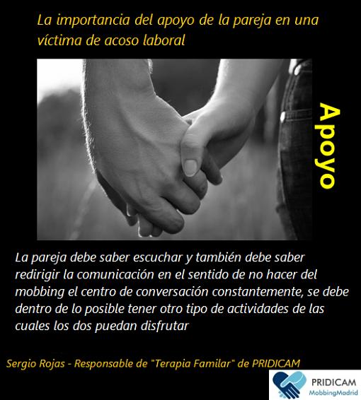 MobbingMadrid La importancia del apoyo de la pareja en una víctima de acoso laboral