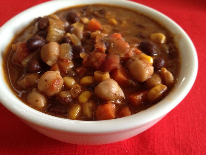 Slightly Smoky Mixed-Bean Chili Recipes — Dishmaps