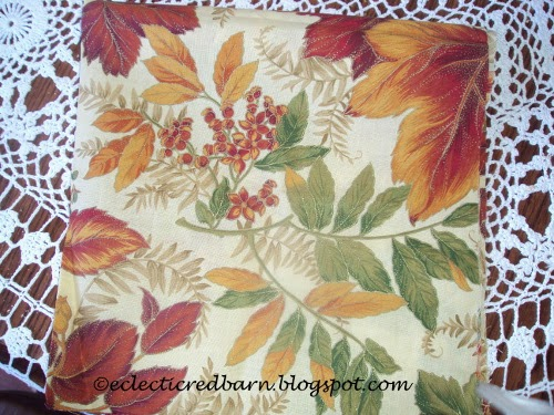 Eclectic Red Barn: Fall fabric