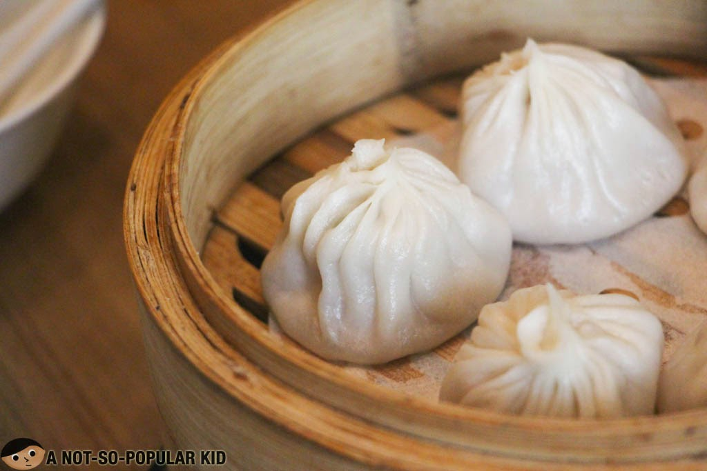 The famous Xiao Long Bao of Crystal Jade Shanghai Delight