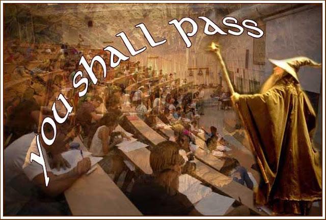 Gandalf at exams