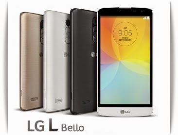 LG L Bello: 5 inch,1.3 GHz Quad-Core Android Phone Specs, Price