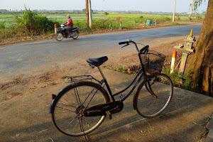 Велопрогулка к горе Phnom Krom