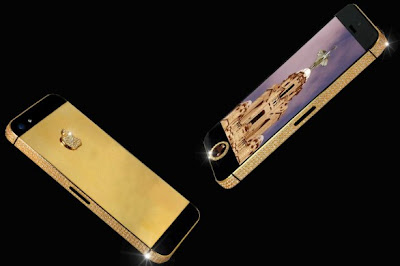 The world's most expensive iPhone in Gold and Diamonds