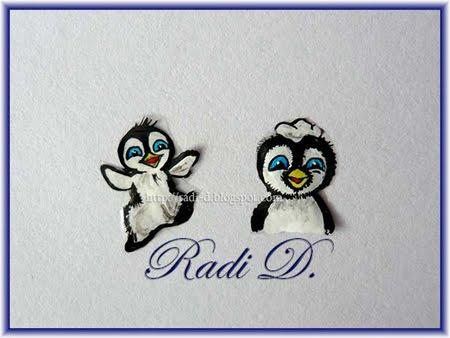 пингвинчета трансферни картинки