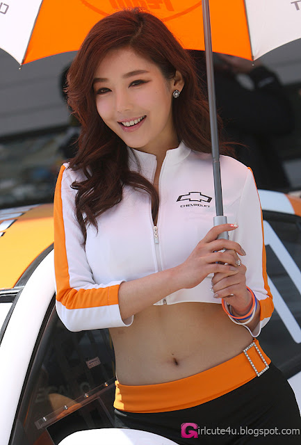 5 Jo Sang Hi - CJ SuperRace R1 2013  - very cute asian girl - girlcute4u.blogspot.com