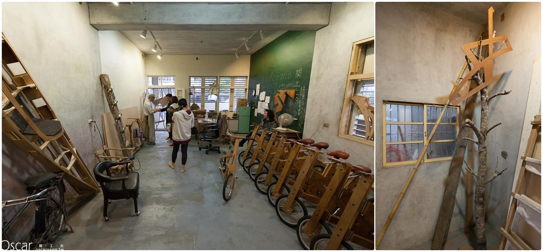 宜蘭旅遊景點推薦 木頭腳踏車 梅花湖 閑工夫