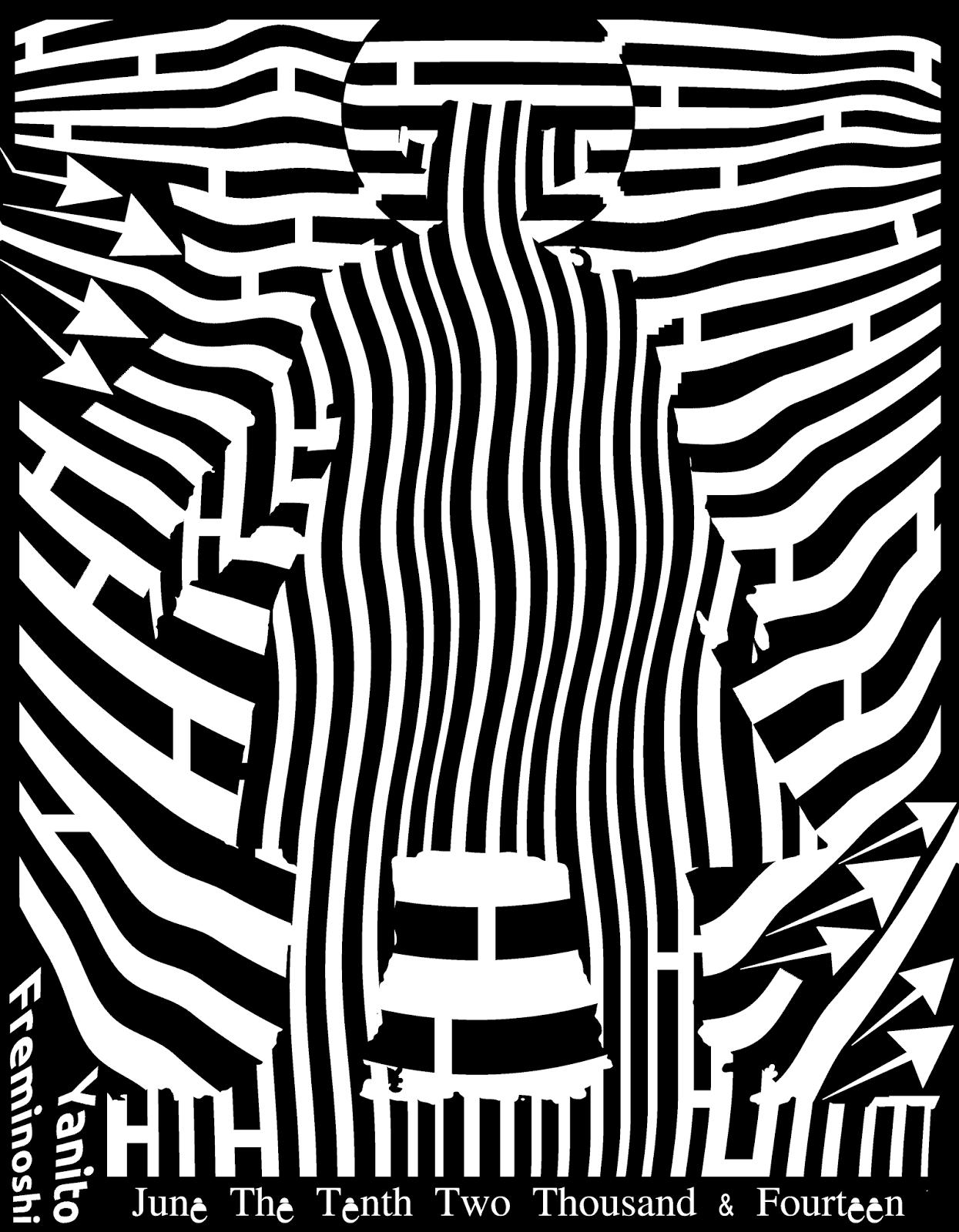 maze at high noon