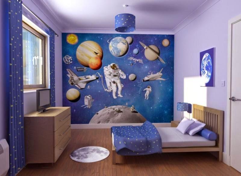 Contoh Konsep Desain Interior Kamar Tidur Anak Laki Laki