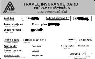 how to get a travel insurance card