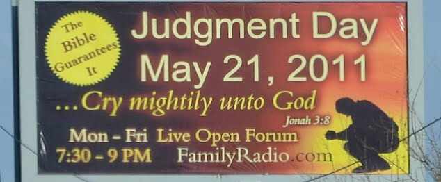 judgment day billboard. judgement day billboard.
