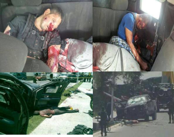 VÍDEO DE FIBRA- Fuerzas Federales VS Cártel del Golfo- 24HorasDiario Muertos+reynosa