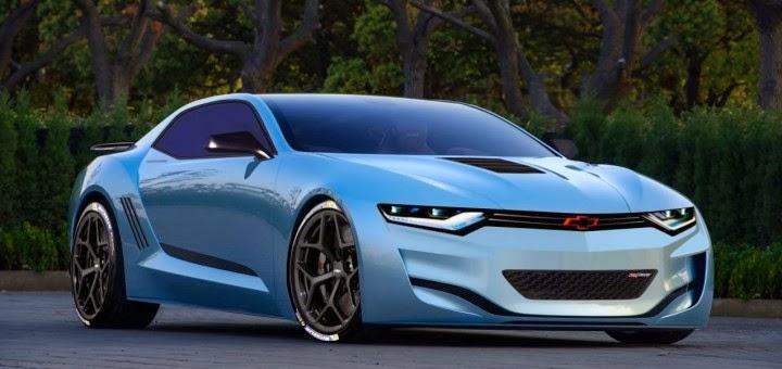 Sixth-Gen Chevrolet Camaro Rendering