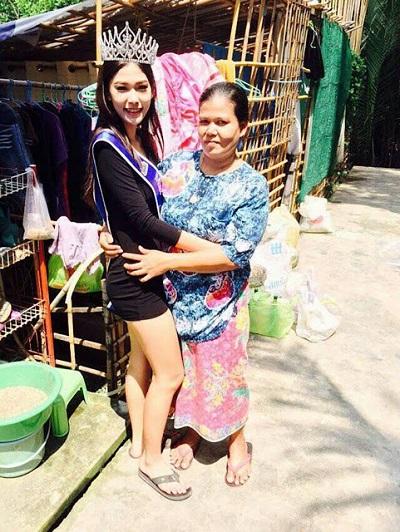 Miss Thailand anak pengutip sampah