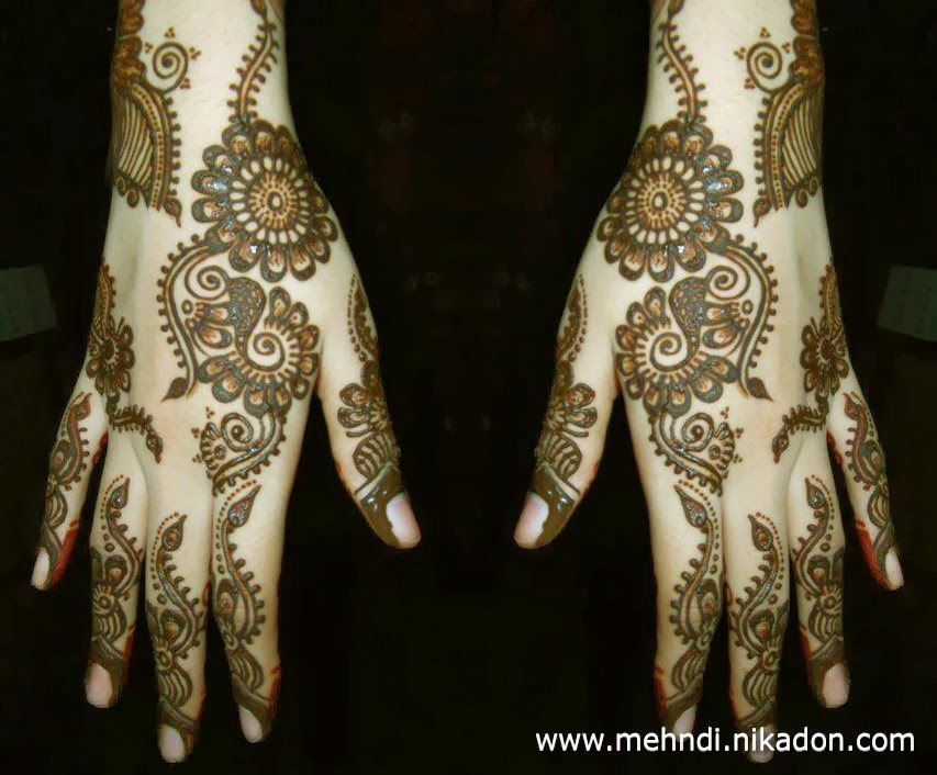 Mehndi Designs For Girls : Best mehndi designs simple arabic for girls