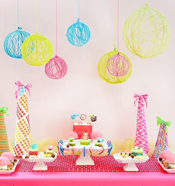 dreams are creativies: happy Birthday: Decoracao para Festa Simples.