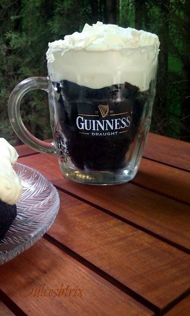 Tarta Guinness-dulcesbtrix