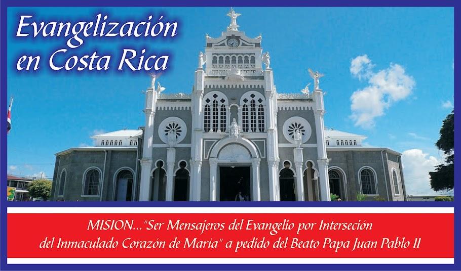 Evangelización en Costa Rica