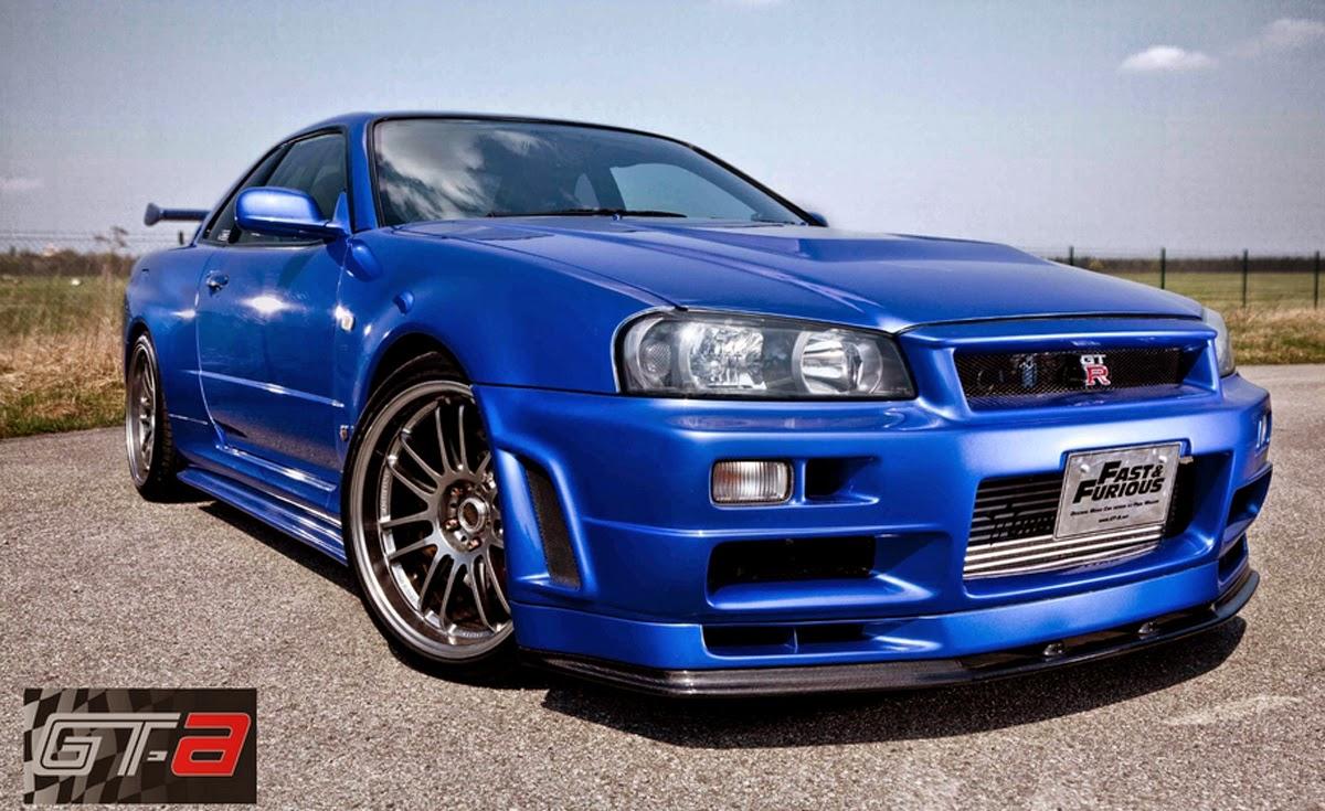 Mobil Nissan GT-R Yang Pernah Dipakai Paul Walker