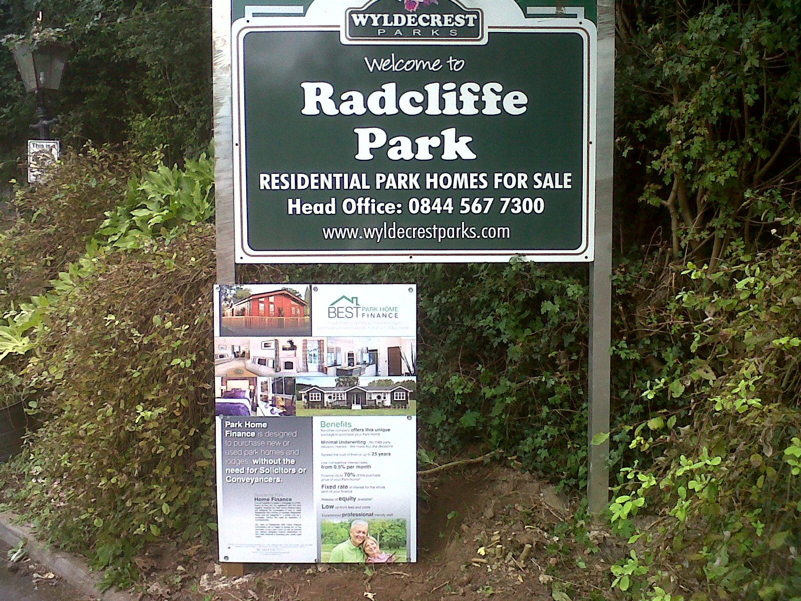 BEST Park Home Finance Makes Debut At Radcliffe