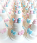 mini wedding cake battesimo gemellini