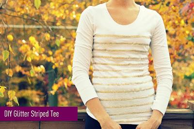 Transformar la ropa con purpurina en Recicla Inventa