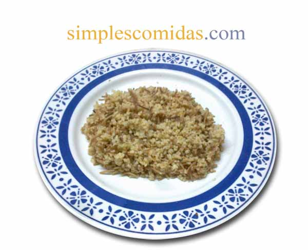 pilav de trigo bulgur