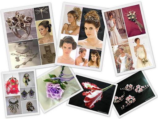 Modelos exclusivos y artesanales de joyas, accesorios para novias, quinceañeras, bijouterie cotidiana y souvenirs