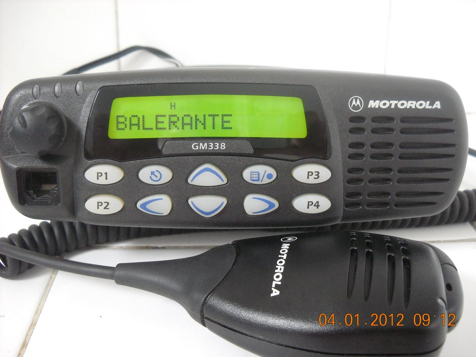 Sinar Agung   Y C 2 V D I    Rig Motorola Gm 338
