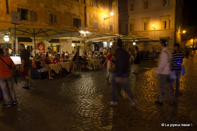 Rome - Trastevere bu night