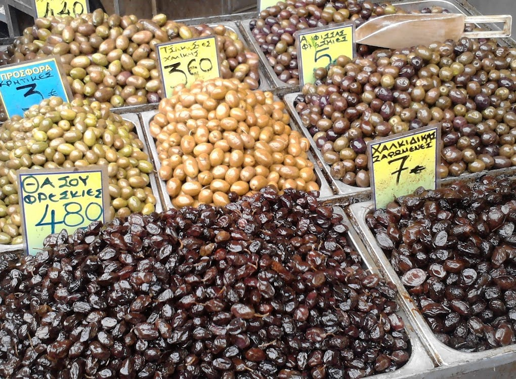 The market, Salonica