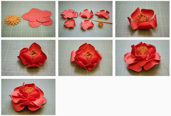 3d paper flower samannetonic 3d paper flower mightylinksfo