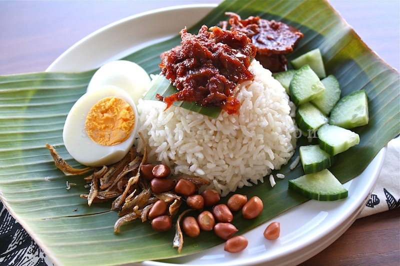 my favourite food nasi lemak essay