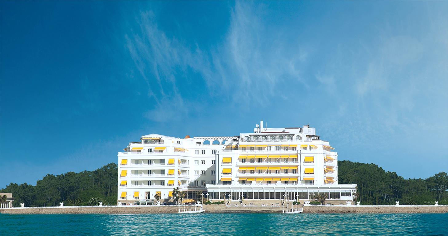 El blog de alfredo isla de la toja a toxa galicia for Hotel luxury la toja