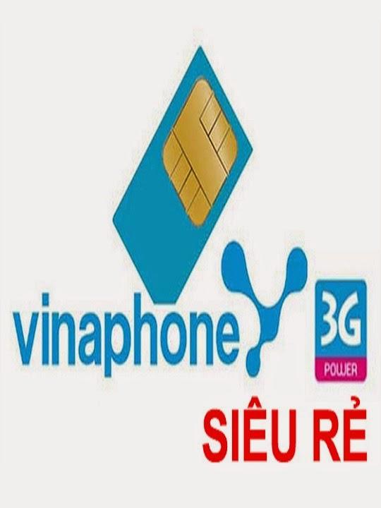 Sim 3g vinaphone khuyến mãi 3Gb