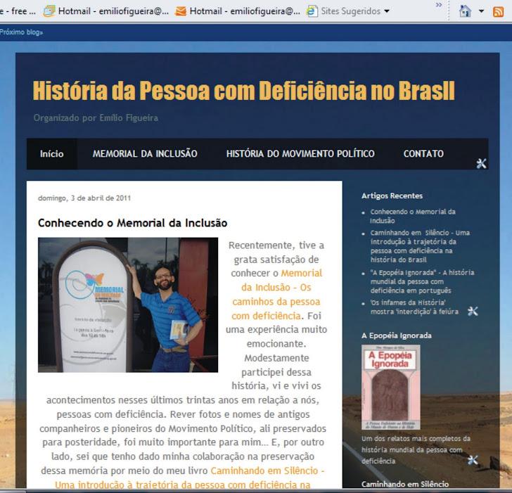 História da Pessoa com Deficência no Brasil
