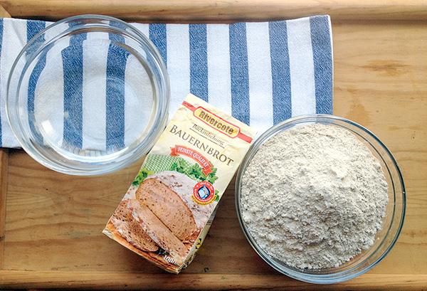 ingredientes pan