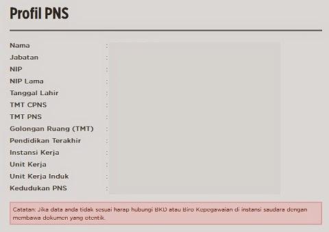 Cara Baru Cek Data Kepegawaian PNS di Website BKN