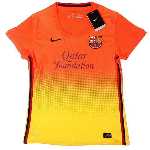 Ladies Jersey Barcelona Away 12/13