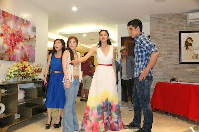 More of Kim and Xian during Kim's 22nd Birthday. CTO