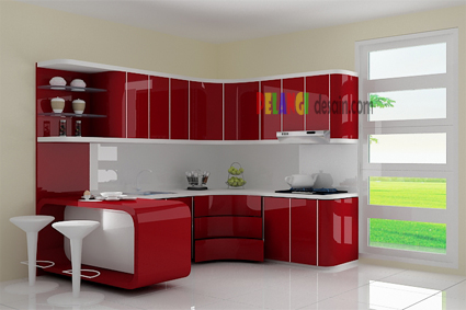 Merah marun images for Katalog kitchen set