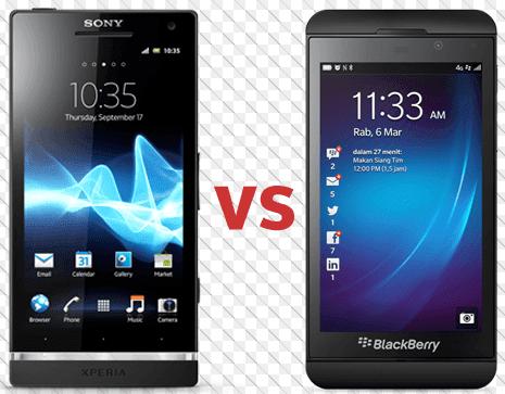 BlackBerry Dan Sony Sepakat Akan Berhenti Membuat Ponsel