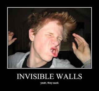 muro invisibile videogioco