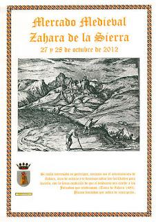 mercado medieval de zahara