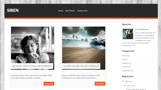 Best List of Free Download Responsive Premium Blogger Templates