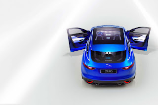 jaguar c-x17 concept - upper view