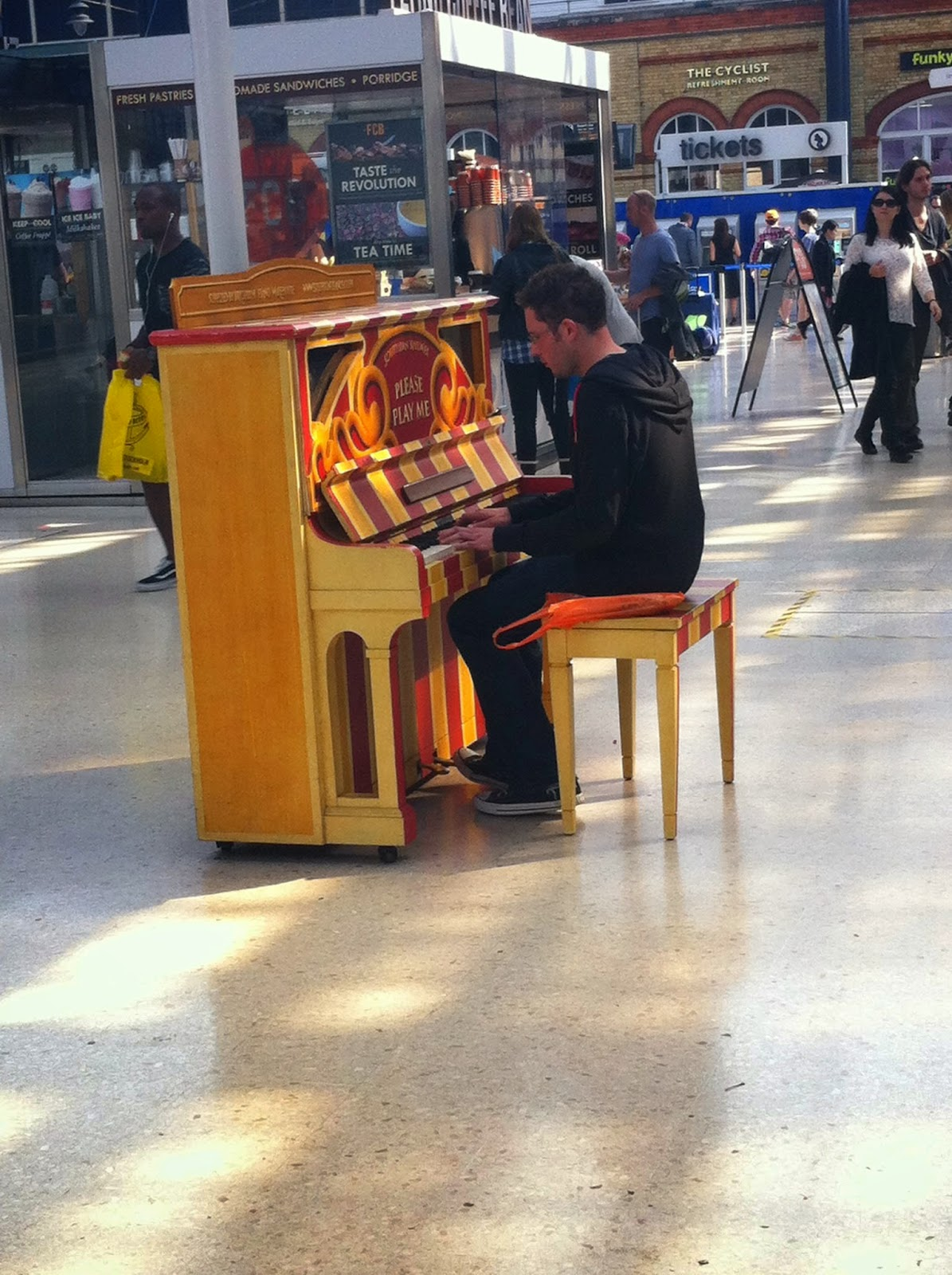 Brighton Station Piano