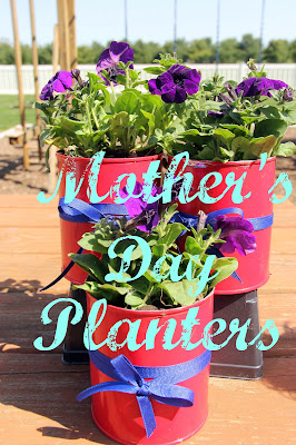 Mother's Day Planters